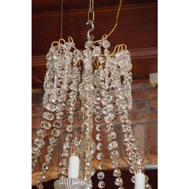 Traditional Antique French Crystal And Bronze 16-light Chandelier. For Sale - Image 3 of 9