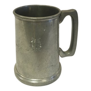 English Pewter Mug For Sale