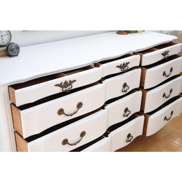 Shabby Chic French Provincial Vintage Dresser - Image 3 of 10