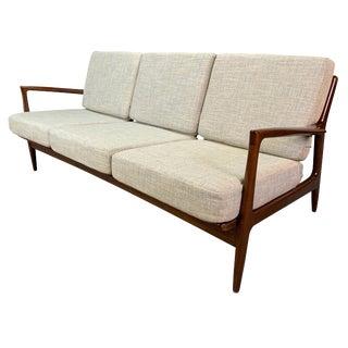 Vintage Mid Century Kofod Larsen for Selig Danish Modern Sofa For Sale