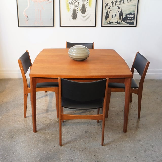 Uldum Møbelfabrik Danish Chairs - Set of 4 - Image 7 of 7