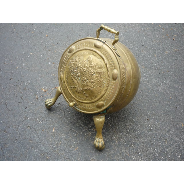 Antique Brass Coal Scuttle - Image 2 of 7