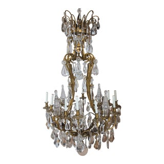Large 1930s Caldwell Chandelier For Sale