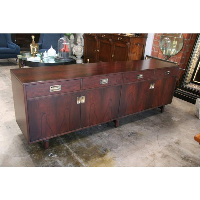 Italian 1960s rosewood cabinet by Stildomus for your dining room, living or bedroom. Great vintage piece that will wow...