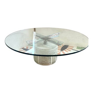 Goovanni Offredi for Saporiti Coffee Table For Sale