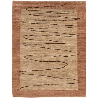 """Contemporary Indian Rug, 5'3"""" X 6'10"""" For Sale"""