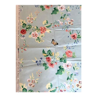 Brunschwig and Fils Chinese Flowers Cotton Chintz Fabric For Sale