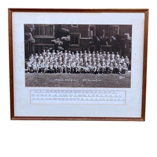 Vintage Yale University Class of 1911 Alumni - 1961 Reunion Gentleman's Photo For Sale