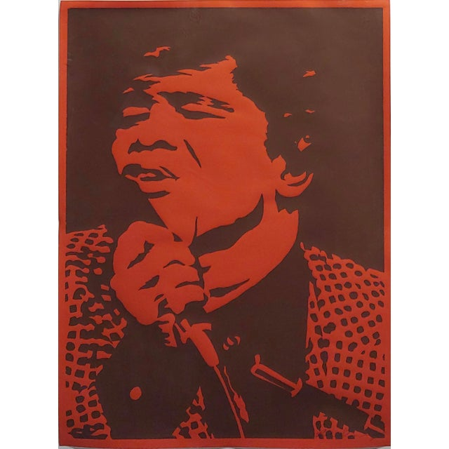 Bob Stanley - James Brown -Original 1960s Lithograph For Sale - Image 4 of 10