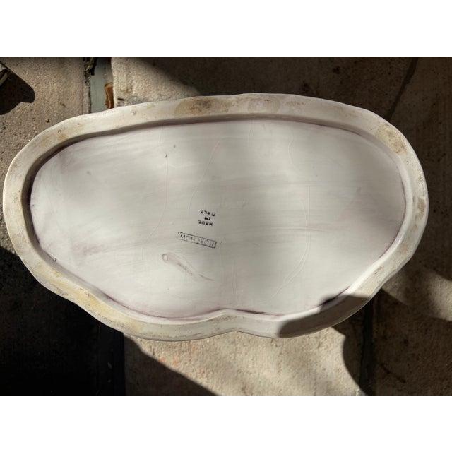 Ceramic Horchow Italian Mid-Century Modern Head Vase For Sale - Image 7 of 8