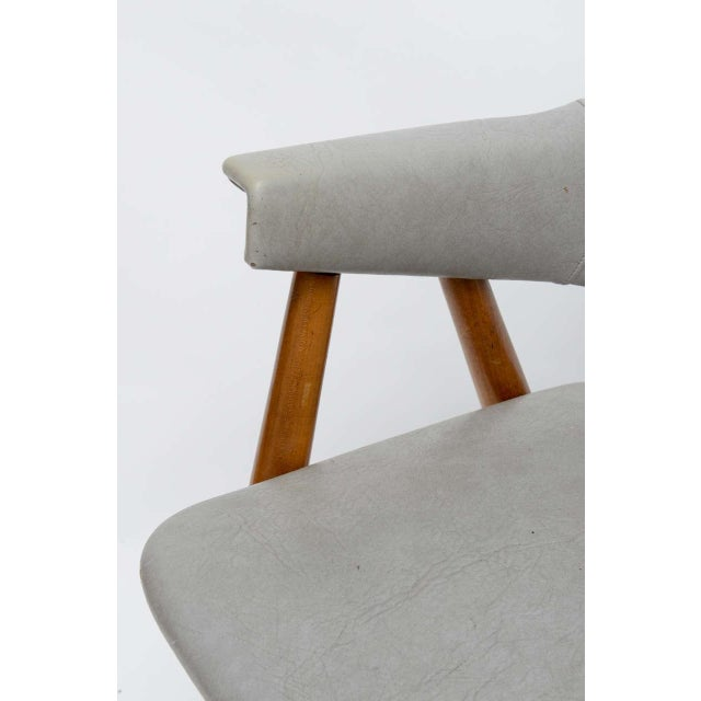 Wooden MCM Chair Attributed to Paul McCobb 1950 For Sale - Image 10 of 10