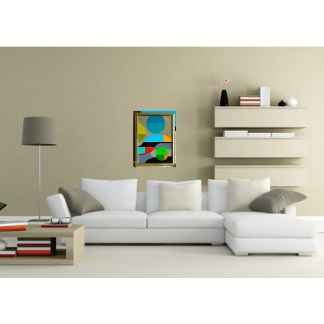 Original Abstract Expressionist Painting - Image 5 of 7