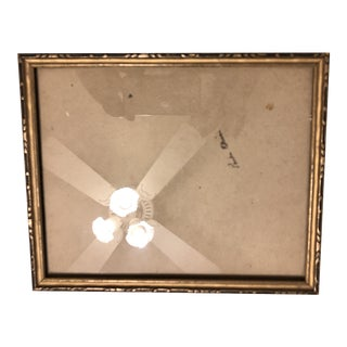 Vintage Wooden Picture Frame For Sale