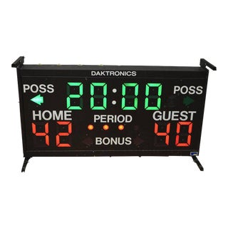 Daktronics Basketball Scoreboard