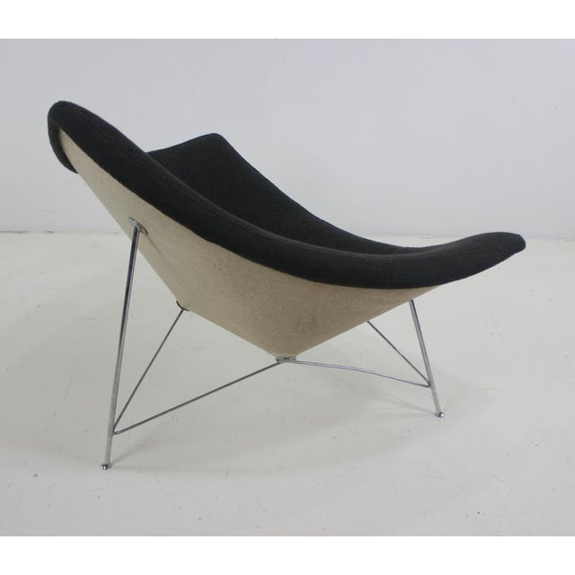 George Nelson Early Edition Coconut Chair & Ottoman by George Nelson for Herman Miller For Sale - Image 4 of 6