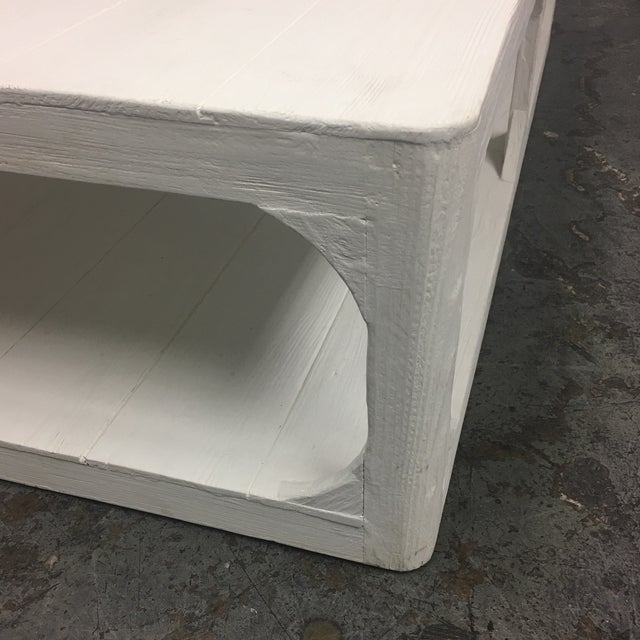Dovetail White Shabby Chic Coffee Table - Image 7 of 9