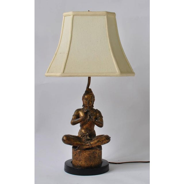 Collection of Vintage Thai Figure Lamps For Sale - Image 9 of 10