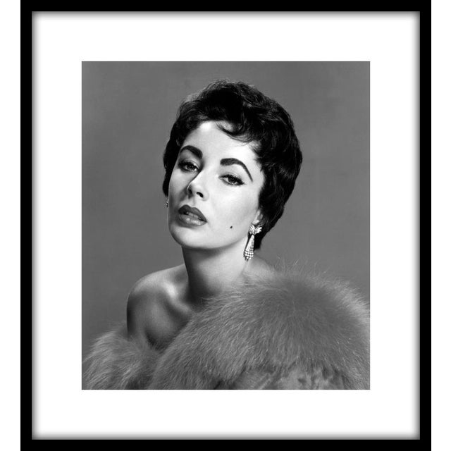 "Elizabeth Taylor, 1953. Photo by Wallace Seawell. 11"" x 14"" estate stamped silver gelatin print made from the original..."