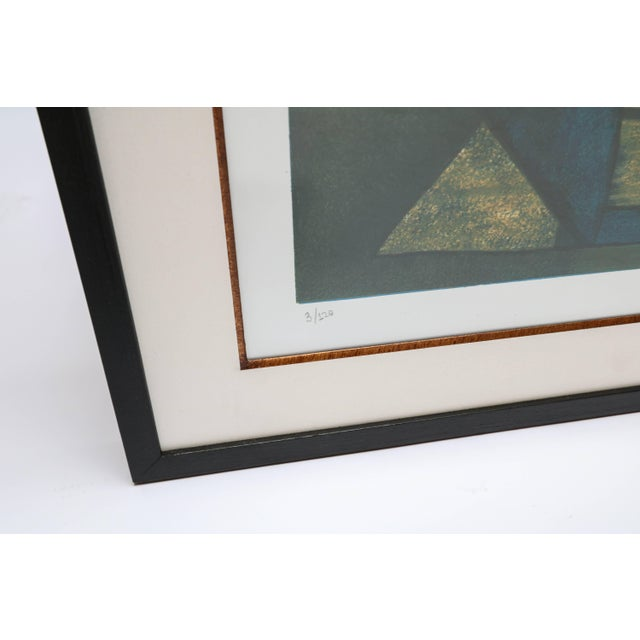 1960s Roberto Burle Marx Abstract Print For Sale - Image 5 of 6