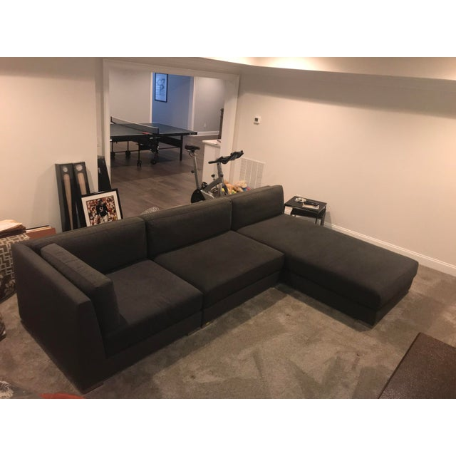 Donghia Donghia Sectional Sofa For Sale - Image 4 of 9