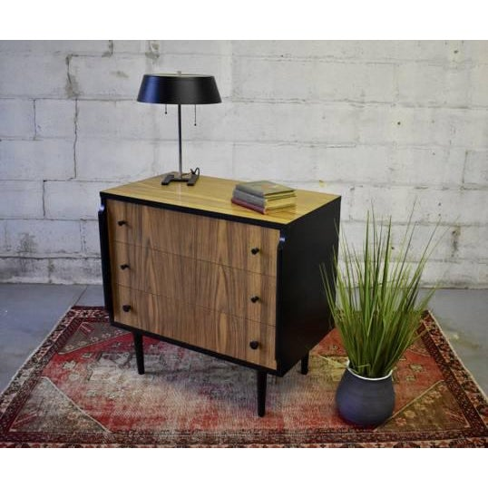 "1960s Mid Century Modern Dresser by Kent Coffey ""Teakway"" For Sale - Image 5 of 8"
