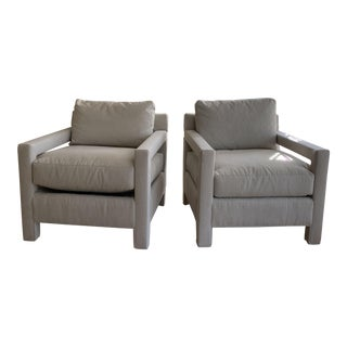 Modern Kravet Barry Chair - A Pair For Sale