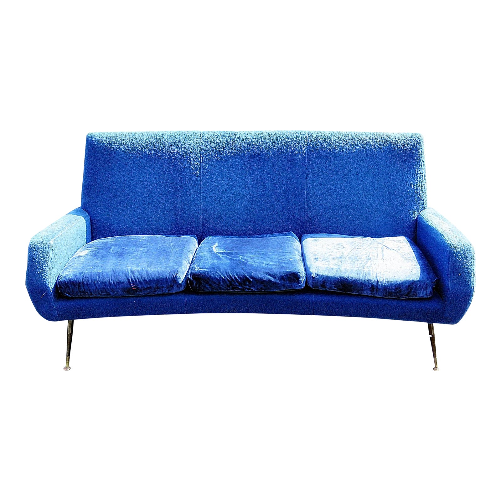 Vintage Italian Mid Century Modern Sofa