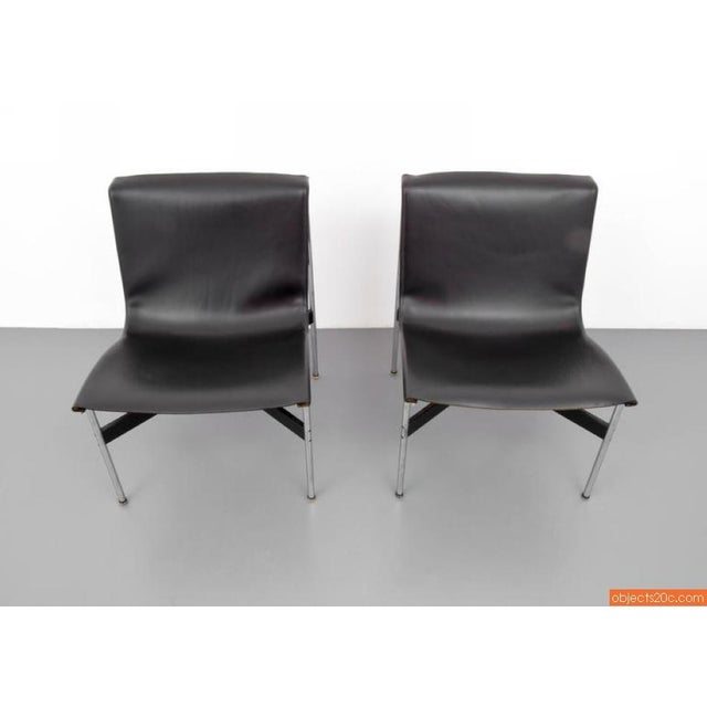 1960s Pair Of William Katavolos, Ross Littell & Douglas Kelley, New York Lounge Chairs For Sale - Image 5 of 7