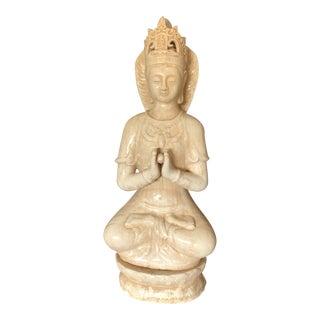Ceramic Greeting and Adoration Buddha Statue