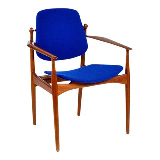 Danish Modern Arne Vodder Arm Chair For Sale