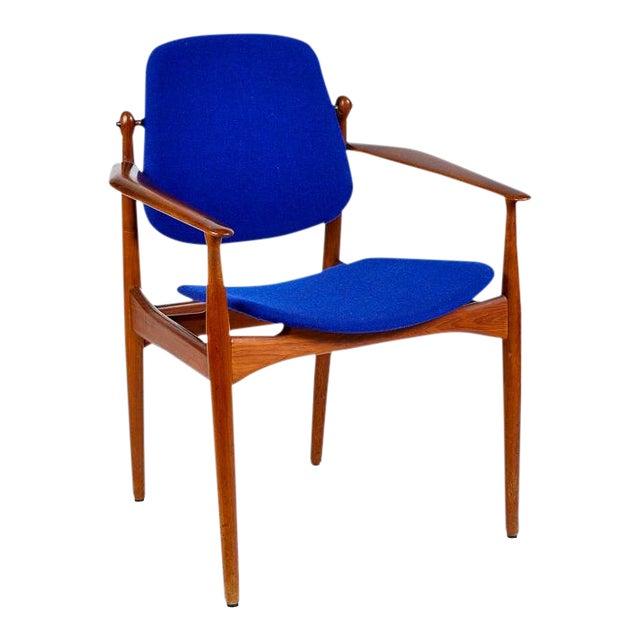 Danish Modern Arne Vodder Arm Chair For Sale