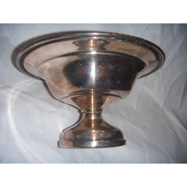 Silver-Plate Pedestal Bowl - Image 3 of 9