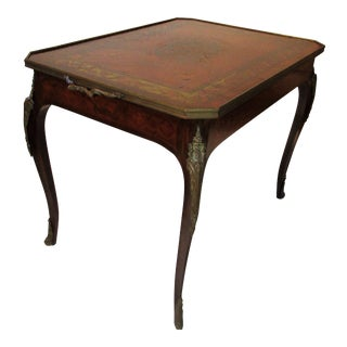 1930s Hollywood Regency Tray Top Table For Sale