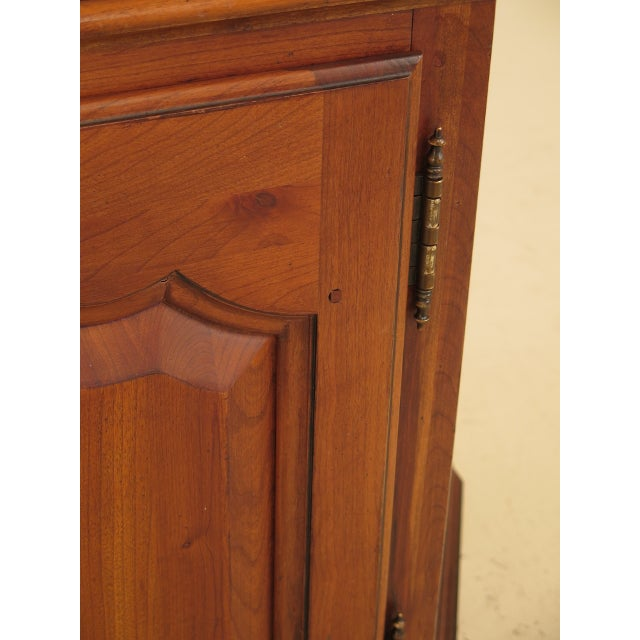 Brown Ethan Allen 2 Door Cherry Media Cabinet Console For Sale - Image 8 of 13