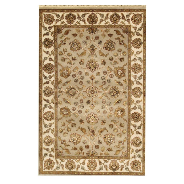 """Pasargad Agra Collection Rug - 4' X 6'2"""" - Image 1 of 2"""