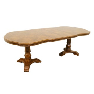 Late 20th Century Vintage Universal Furniture Spanish Revival Style Dining Table For Sale