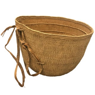 Massive Yanomami Gathering Basket For Sale