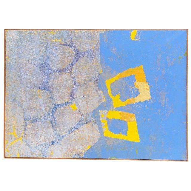 "Fernando Texidor Mid-Century Abstract ""Metamorphosis"" Painting For Sale"