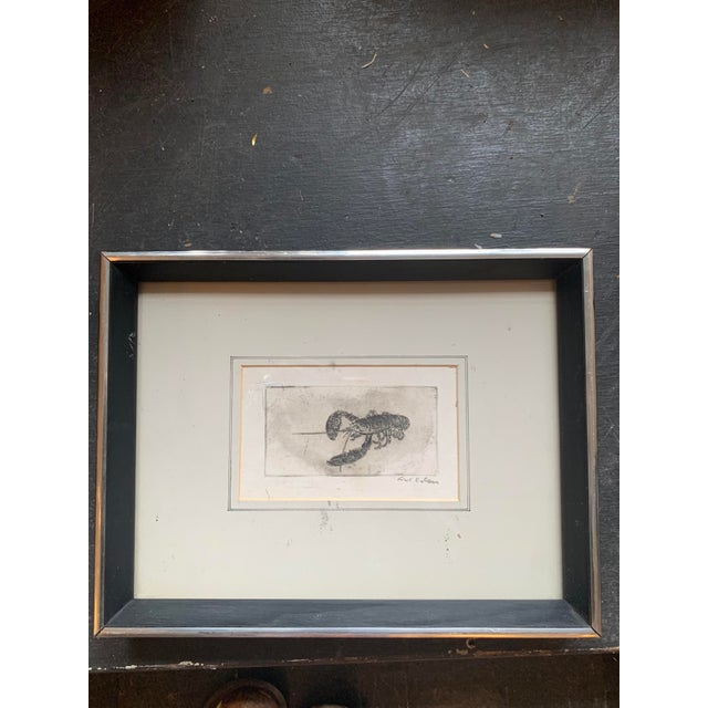 Framed Lobster Print For Sale In Seattle - Image 6 of 6