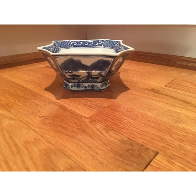 Blue & White Asian Bowl - Image 5 of 5