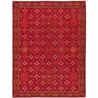 """Contemporary Nepalese Rug, 9'00"""" X 11'10"""" For Sale"""