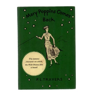 "1963 ""Mary Poppins Comes Back"" Collectible Book For Sale"