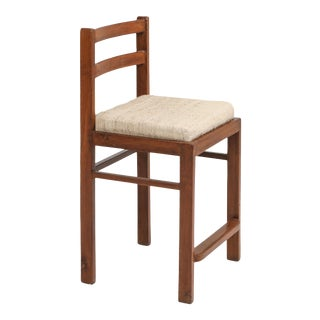 1960s Chandigarh Stool by Pierre Jeanneret For Sale