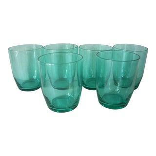 1970s Vintage Blenko Juice Glasses- Set of 6 For Sale