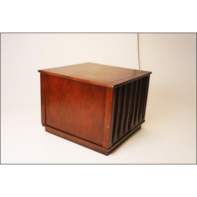 Harvey Probber Style Mid-Century Modern Square Side Table - Image 4 of 11