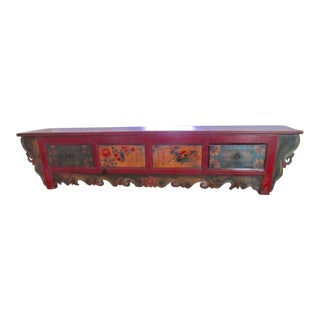 Tibetan Hand Painted Low Alter Table