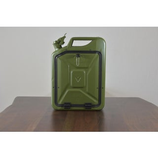 Danish Fuel Army Green Bar Cabinet Preview