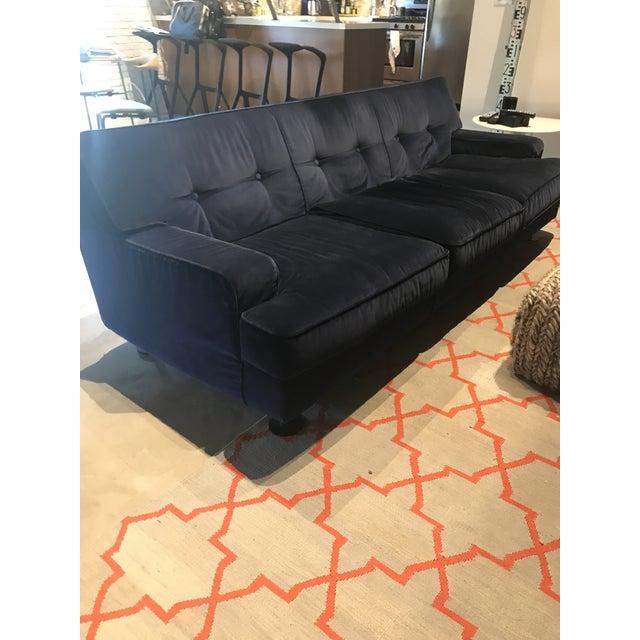 "Sofa Square by Marco Zanuso, Arflex Italy 1966 Luxurious three-seat ""Square"" sofa designed by Marco Zanuso, manufactured..."