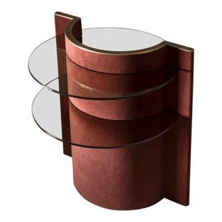 Contemporary Torus Side Table, Made by Robert Sukrachand in Usa For Sale