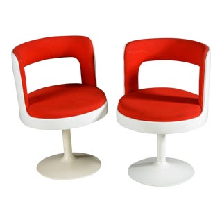 Mid-Century Modern 1970s Easy Chairs From Finland- A Pair For Sale